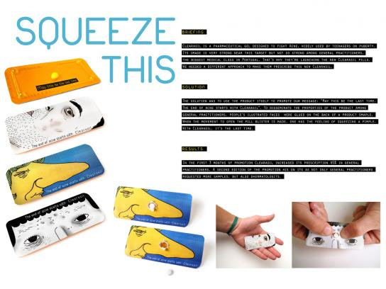 Clearasil Direct Ad -  Squeeze