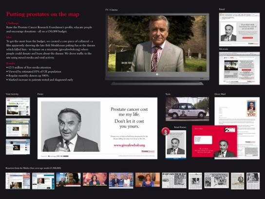 The Prostate Cancer Research Foundation Direct Ad -  Give a Few Bob