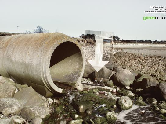 GreenNation Print Ad -  Sewer