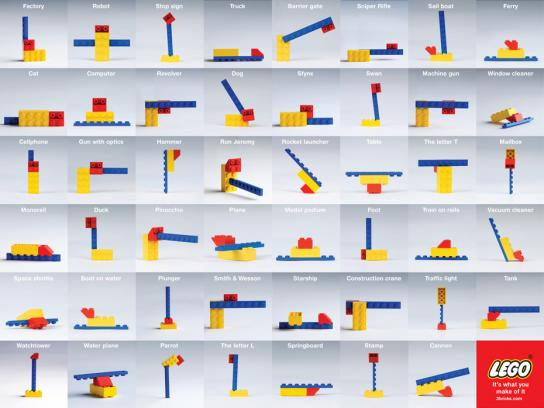 Lego Print Ad -  It's what you make of it, 3