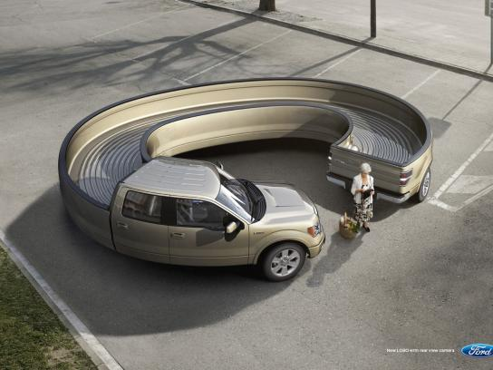 Ford Print Ad -  Rear view