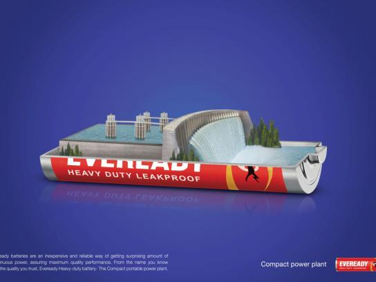 Eveready Print Ad -  Water