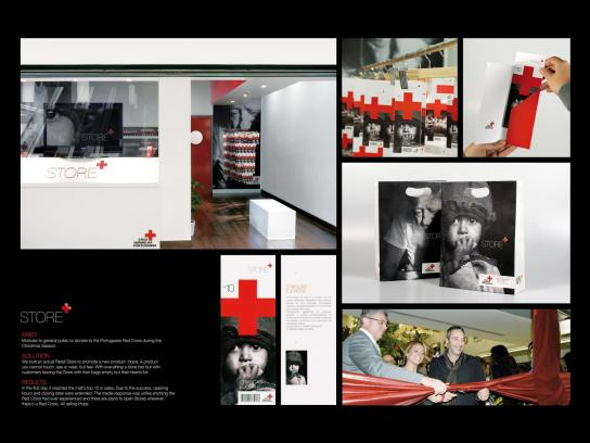Red Cross Direct Ad -  Store