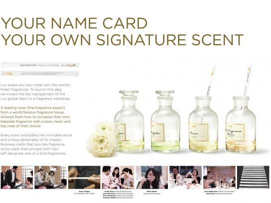 Lux Direct Ad -  Name Card