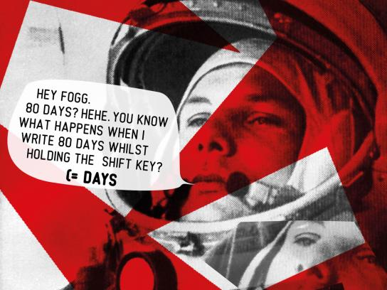 TED Print Ad -  Gagarin
