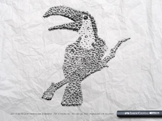 Faber-Castell Print Ad -  Tucan