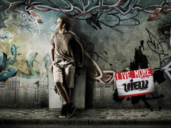 View Print Ad -  Live more, 2