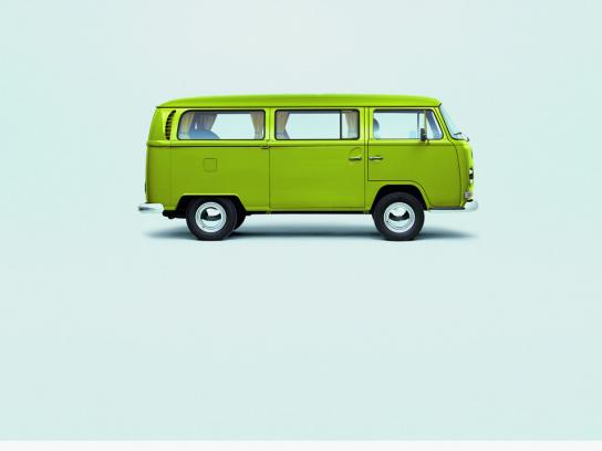 Volkswagen Print Ad - Conceived