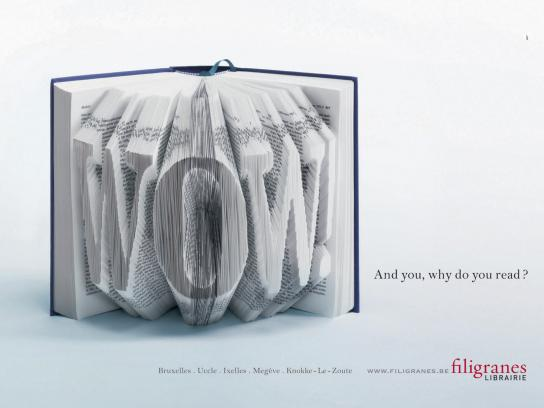 Filigranes Print Ad -  WOW!