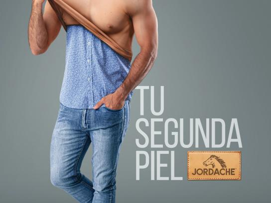 Jordache Jeans Print Ad - Your Second Skin