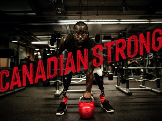 GoodLife Fitness Film Ad - Canadian Strong