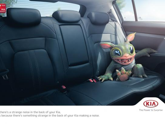 KIA Outdoor Ad -  Little monster