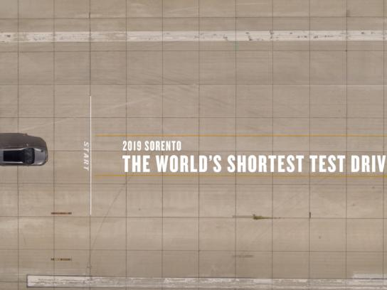 KIA Film Ad - World's Shortest Test Drive