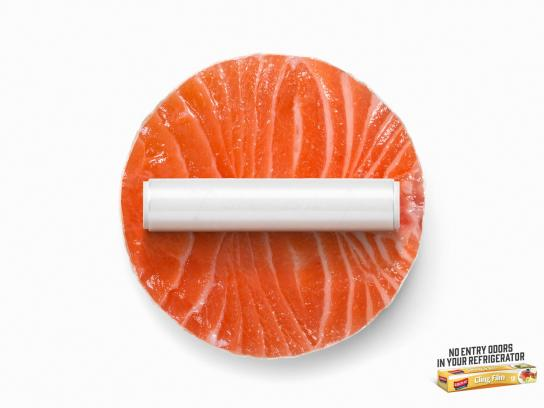 Koroplast Print Ad -  No entry - salmon
