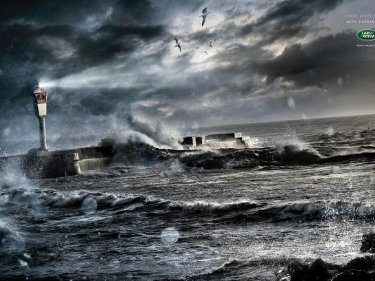 Land Rover Print Ad -  Lighthouse, 2