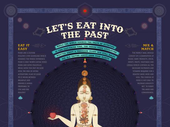 Nestle India Print Ad - Let's Eat Into The Past