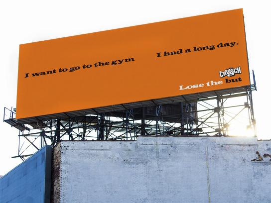 Crunch Fitness Outdoor Ad - Lose the But, 1