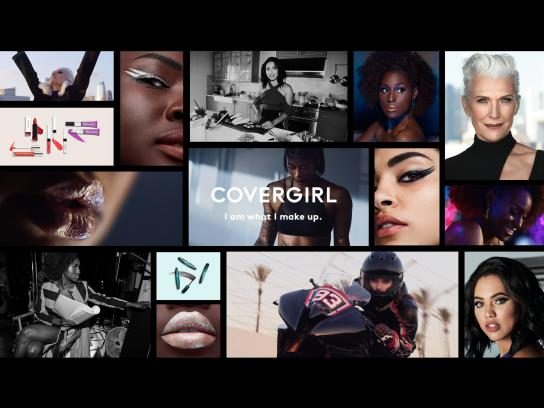 Covergirl Integrated Ad - I Am What I Make Up