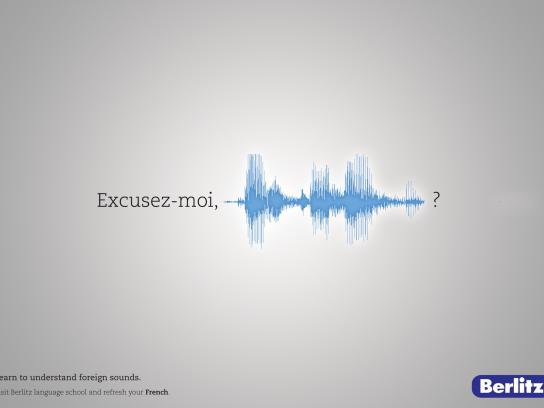 Berlitz Print Ad -  Foreign Sounds, 3