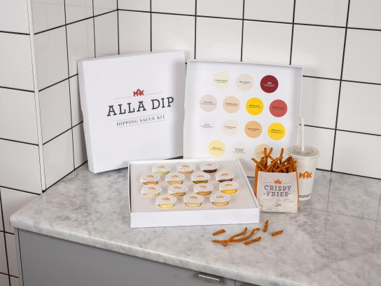 Max Burgers Direct Ad - Dipping sauce kit