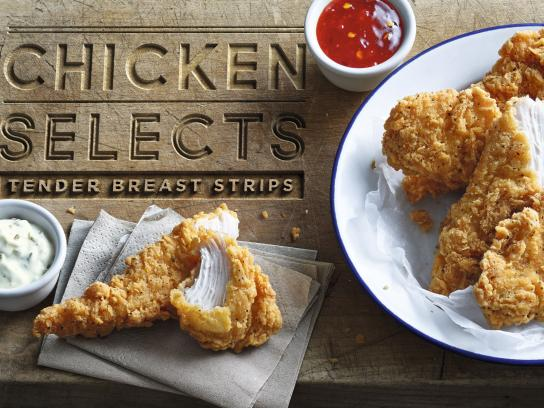 McDonald's Outdoor Ad - Chicken Selects