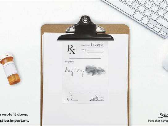 Sharpie Print Ad - Rx Note