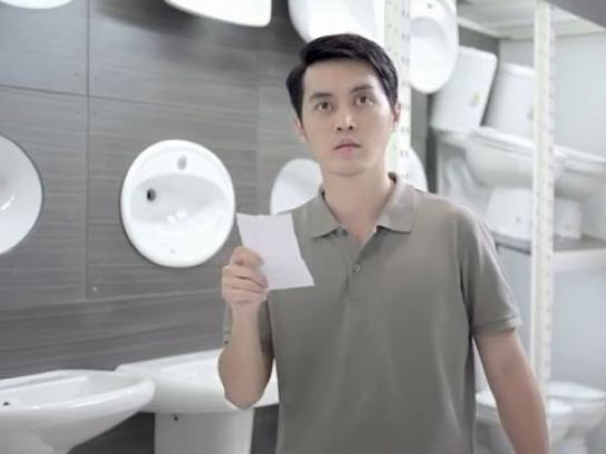 Homepro Film Ad -  Toilet