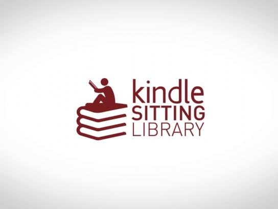 Kindle Digital Ad -  Kindle Sitting Library