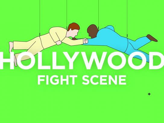 Brooklyn Film Festival Film Ad -  Fight Scene