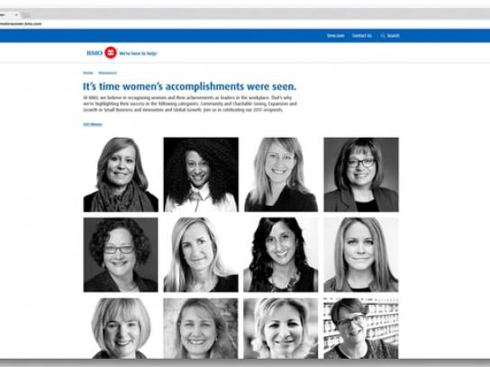 BMO Film Ad - BMO Celebrating Women