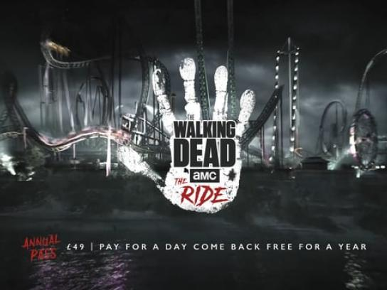 Thorpe Park Resort Film Ad - Walk with the Dead