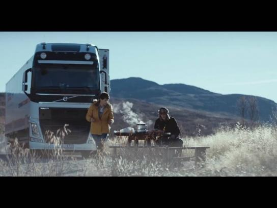The Norwegian Labour Inspection Authority Content Ad - The truck driver's mother