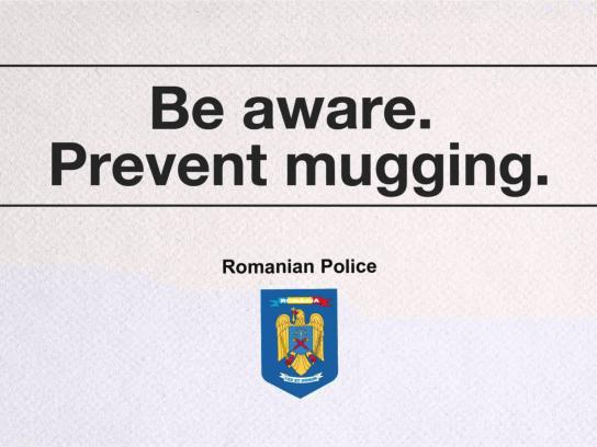Romanian Police Audio Ad -  The bag