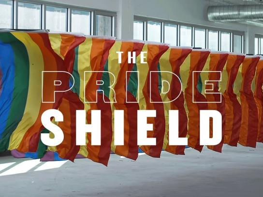Fondation Emergence Ambient Ad - The Pride Shield