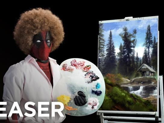 Deadpool 2 Film Ad - Wet on Wet