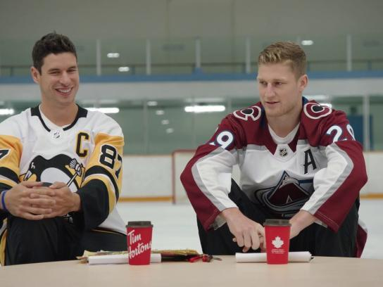 Tim Hortons Experiential Ad - Sid & Nate: Ask a Timbit