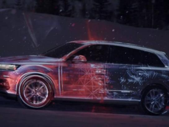 Audi Film Ad - Projection of greatness