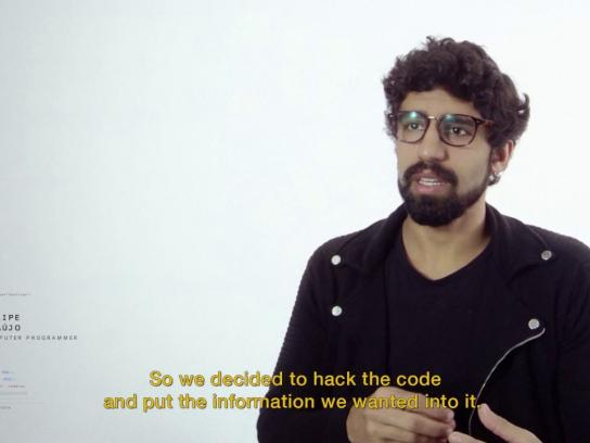 Dorina Nowill Foundation for the Blind Digital Ad - The Hacker Spot