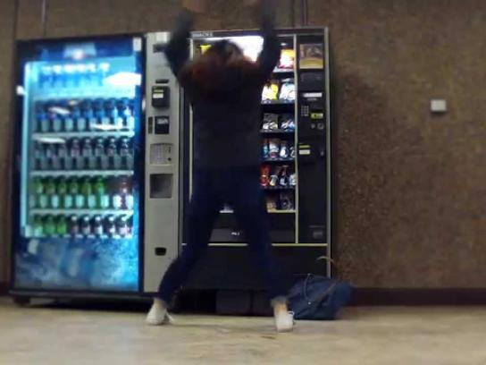 Independent Health Foundation Ambient Ad -  Vending Machine Prank - Work off your snack