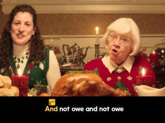 Interac Film Ad -  Dining room