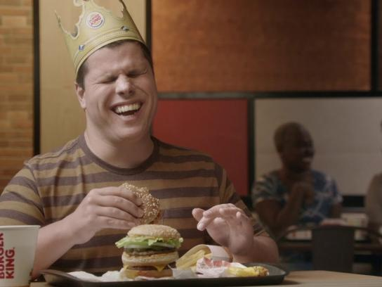 Burger King Film Ad - Burger King Brazil Rolls Out Commercial With Blind Protagonist
