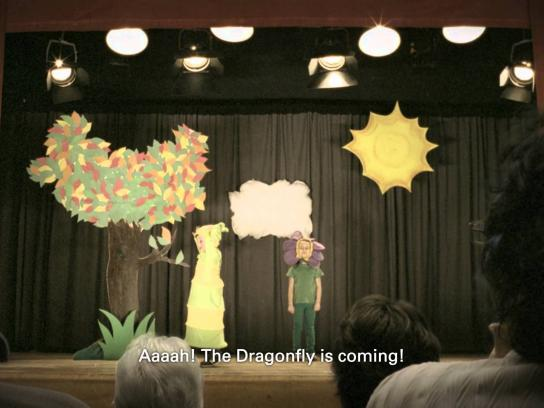 Quebec Health Ministry Film Ad -  Dragonfly