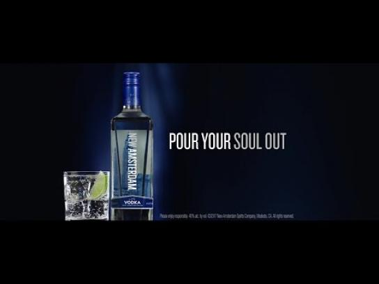New Amsterdam Vodka Film Ad - Pour Your Soul Out