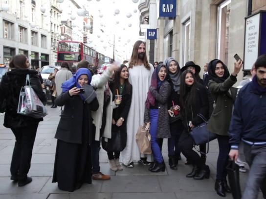 Mother Digital Ad -  Jesus comes to London