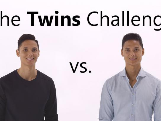 Microsoft Film Ad - The Twin Challenge: Office 35 vs. Office 2019 - which one will win? (Word)