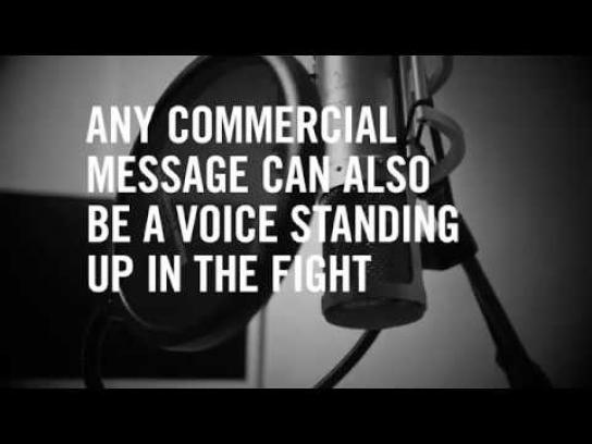 PEN Ambient Ad - Buy a voice – for freedom of speech
