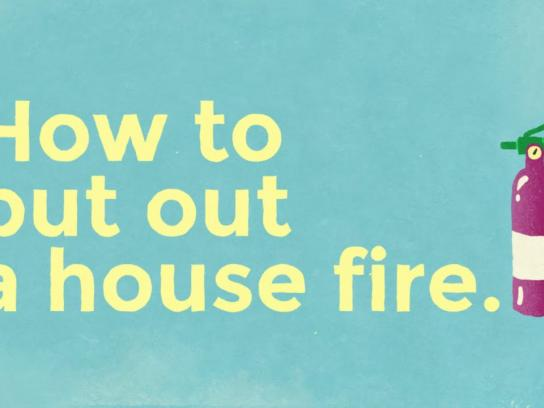 Mount Pleasant Group Digital Ad - How to put out a house fire
