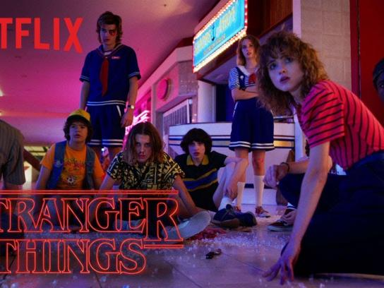 Stranger Things Film Ad - Stranger Things 3 Official Trailer