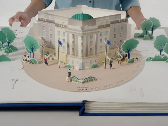 Boston Children's Hospital Digital Ad - Pop-up book