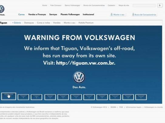 Volkswagen Digital Ad -  Not found